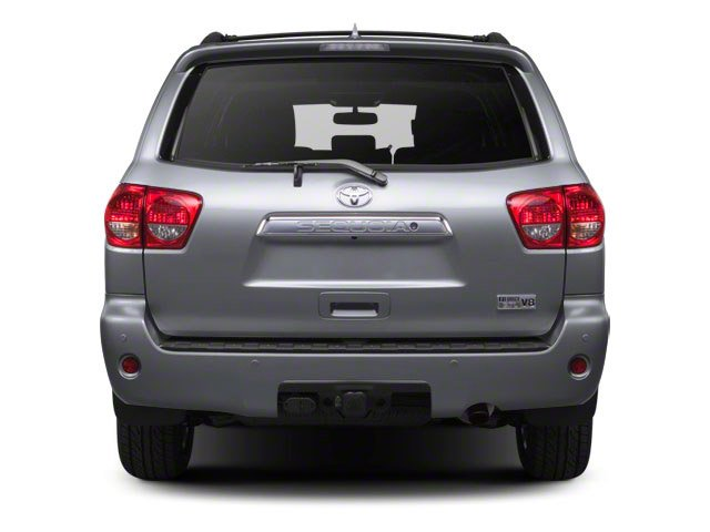2012 Toyota Sequoia Prices and Values Utility 4D Limited 2WD rear view