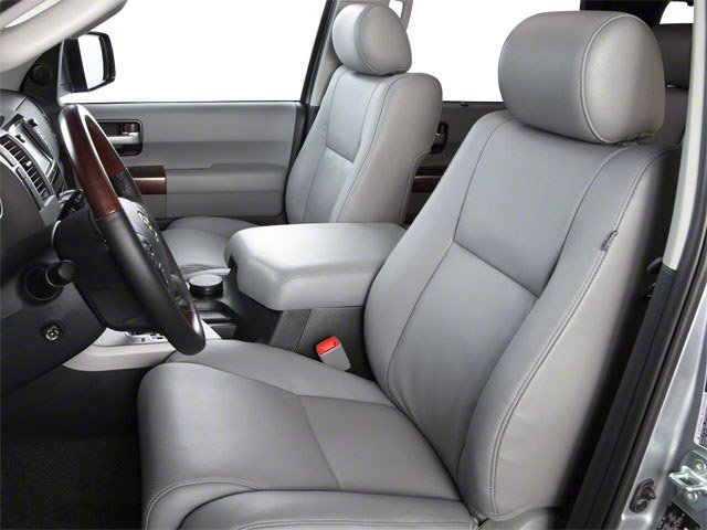 2012 Toyota Sequoia Prices and Values Utility 4D Limited 2WD front seat interior