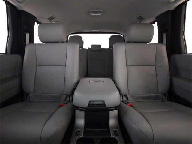 2012 Toyota Sequoia Prices and Values Utility 4D Limited 2WD backseat interior