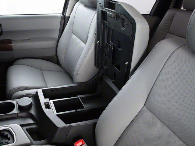 2012 Toyota Sequoia Prices and Values Utility 4D Limited 2WD center storage console