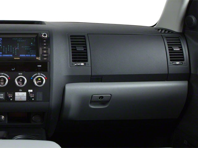 2012 Toyota Sequoia Prices and Values Utility 4D Limited 2WD passenger's dashboard