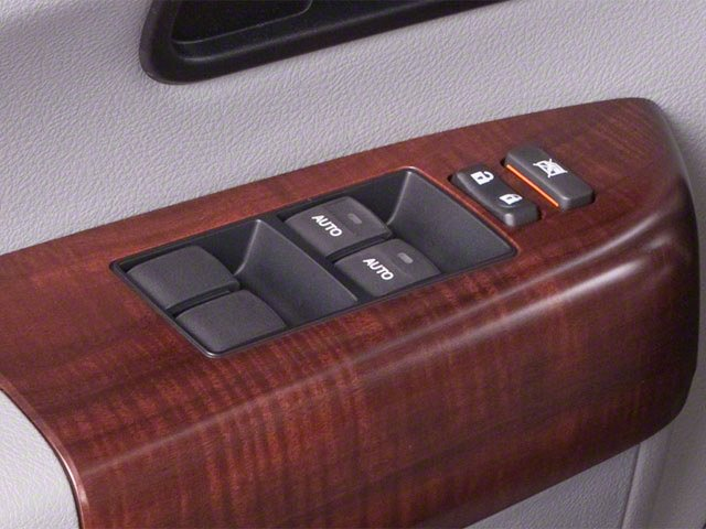 2012 Toyota Sequoia Prices and Values Utility 4D Limited 2WD driver's side interior controls