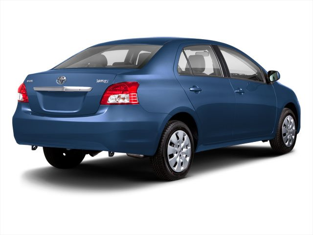 2012 Toyota Yaris Prices and Values Sedan 4D side rear view