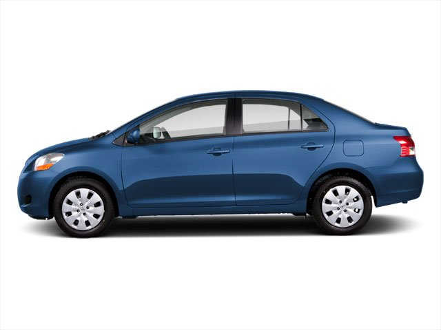 2012 Toyota Yaris Prices and Values Sedan 4D side view