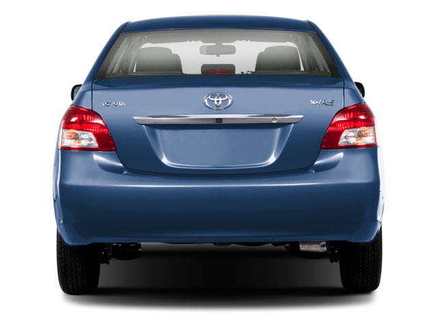 2012 Toyota Yaris Prices and Values Sedan 4D rear view