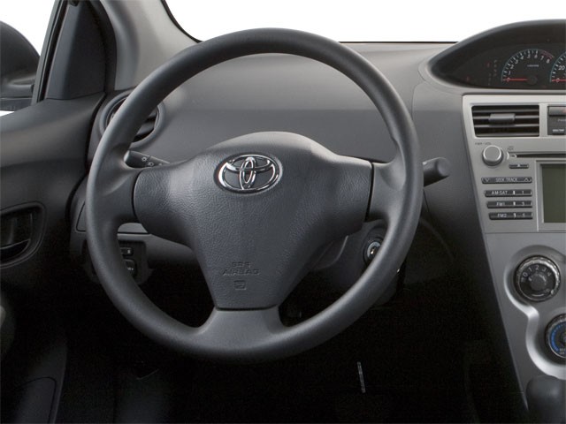 2012 Toyota Yaris Prices and Values Sedan 4D driver's dashboard