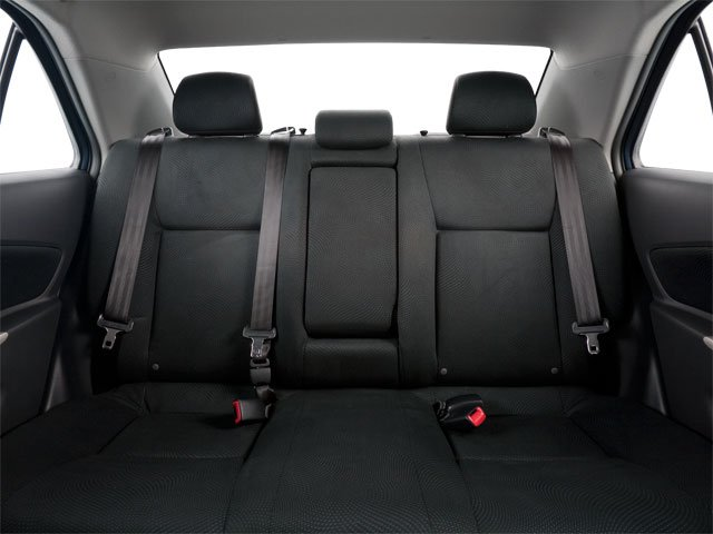 2012 Toyota Yaris Prices and Values Sedan 4D backseat interior