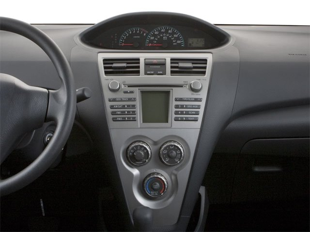 2012 Toyota Yaris Prices and Values Sedan 4D center dashboard