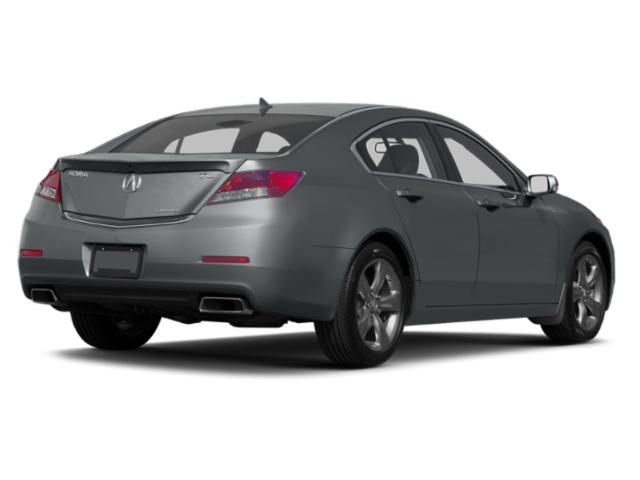 2013 Acura TL Prices and Values Sedan 4D Technology AWD V6 side rear view