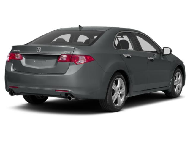 2013 Acura TSX Prices and Values Sedan 4D SE I4 side rear view