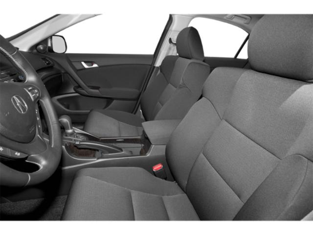 2013 Acura TSX Prices and Values Sedan 4D I4 front seat interior