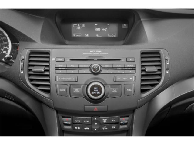 2013 Acura TSX Prices and Values Sedan 4D I4 stereo system