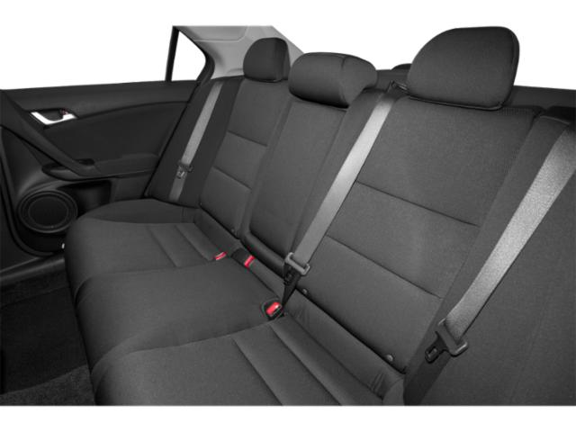2013 Acura TSX Prices and Values Sedan 4D I4 backseat interior