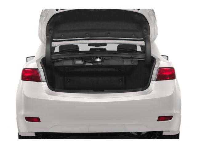 2013 Acura ILX Prices and Values Sedan 4D Hybrid open trunk