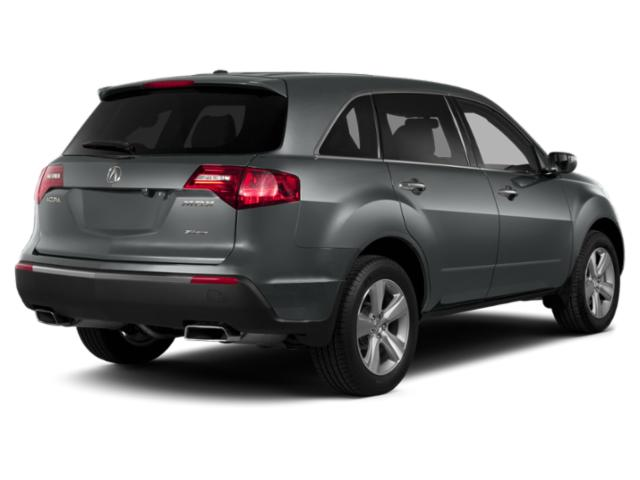 2013 Acura MDX Prices and Values Utility 4D Advance AWD V6 side rear view