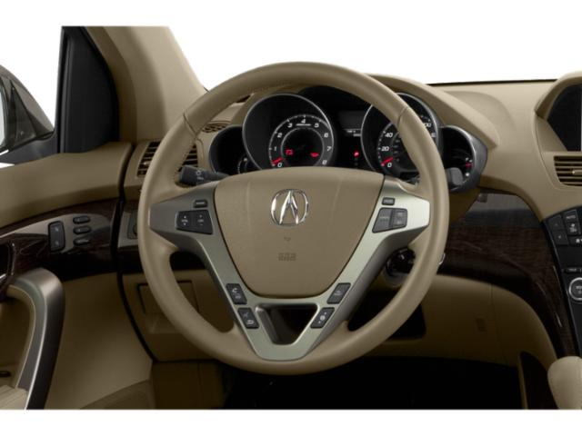 2013 Acura MDX Prices and Values Utility 4D Advance AWD V6 driver's dashboard