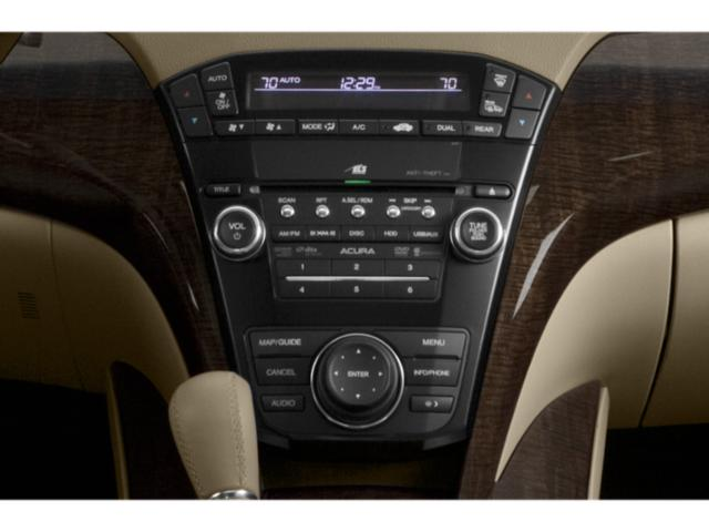 2013 Acura MDX Prices and Values Utility 4D Advance AWD V6 stereo system