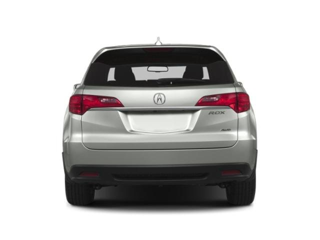 2013 Acura RDX Prices and Values Utility 4D Technology 4WD rear view