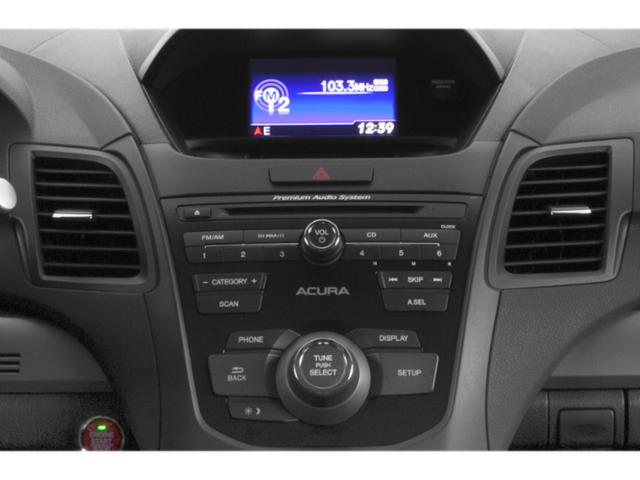 2013 Acura RDX Prices and Values Utility 4D Technology 4WD stereo system