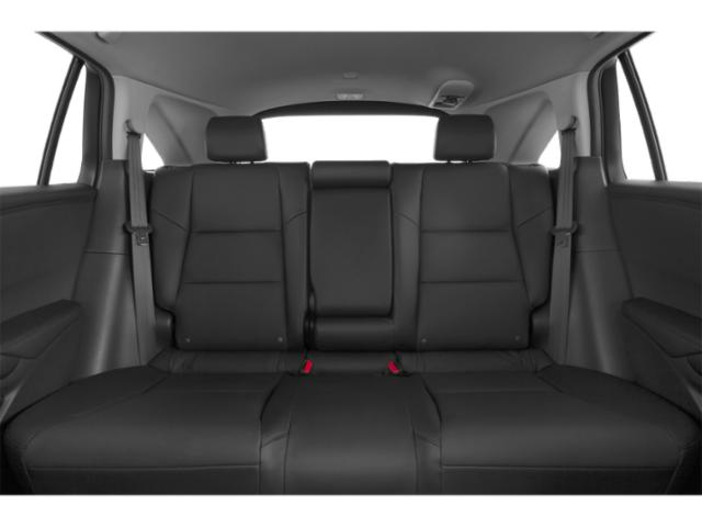 2013 Acura RDX Prices and Values Utility 4D Technology 4WD backseat interior