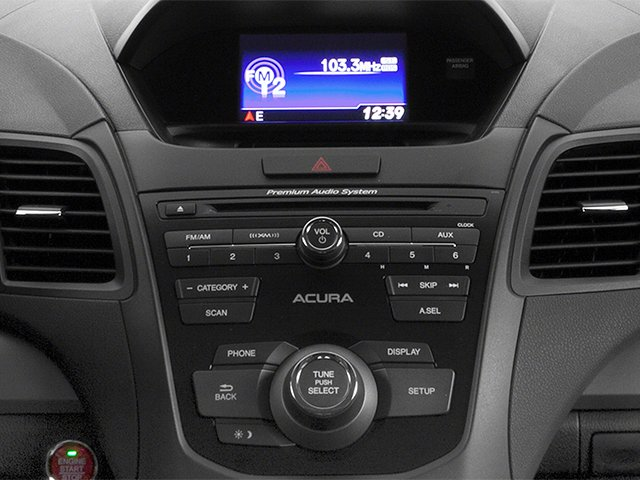 2013 Acura RDX Prices and Values Utility 4D 2WD stereo system