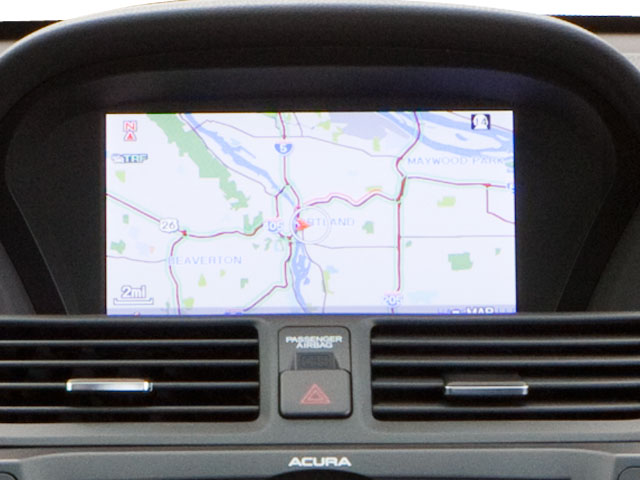 2013 Acura TL Pictures TL Sedan 4D Technology V6 photos navigation system