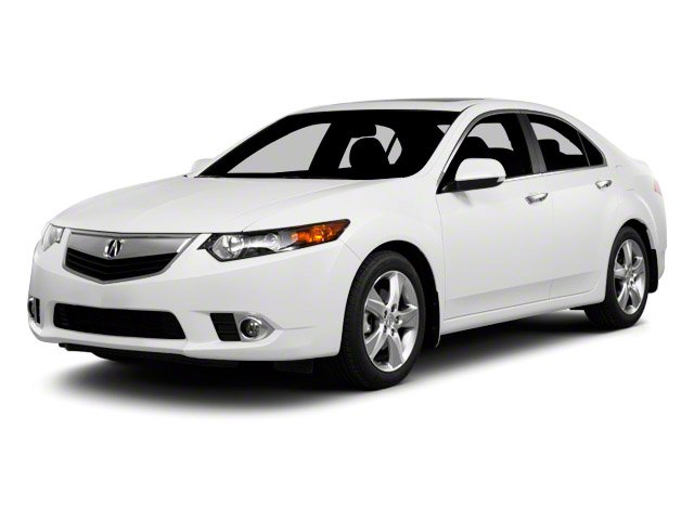 2013 Acura TSX Prices and Values Sedan 4D Technology I4 side front view