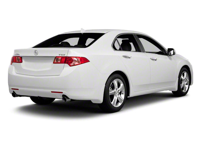 2013 Acura TSX Prices and Values Sedan 4D Technology I4 side rear view