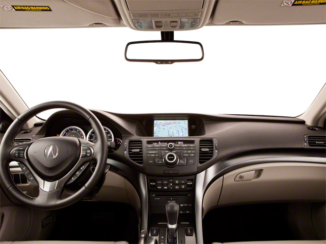 2013 Acura TSX Prices and Values Sedan 4D Technology I4 full dashboard