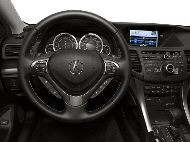 2013 Acura TSX Sport Wagon Prices and Values Wagon 4D Technology I4 driver's dashboard