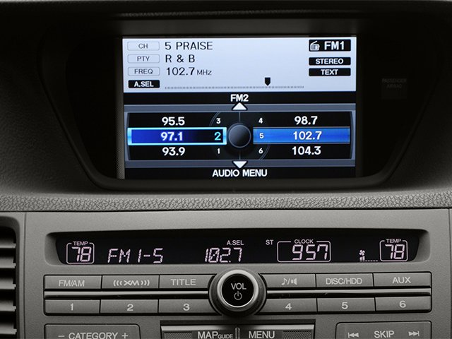 2013 Acura TSX Sport Wagon Prices and Values Wagon 4D Technology I4 stereo system