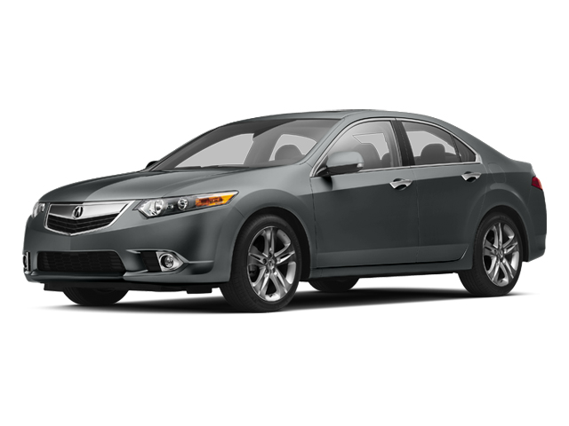 2013 Acura TSX Prices and Values Sedan 4D Technology V6 side front view