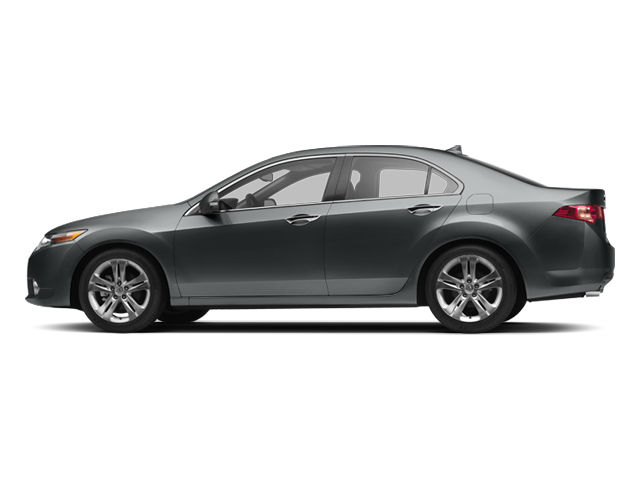2013 Acura TSX Prices and Values Sedan 4D Technology V6 side view