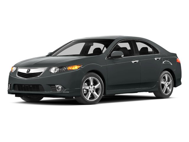 2013 Acura TSX Prices and Values Sedan 4D SE I4 side front view