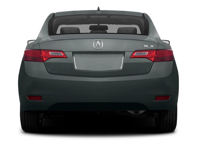 2013 Acura ILX Prices and Values Sedan 4D Technology rear view