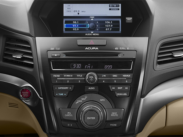 2013 Acura ILX Prices and Values Sedan 4D Technology stereo system