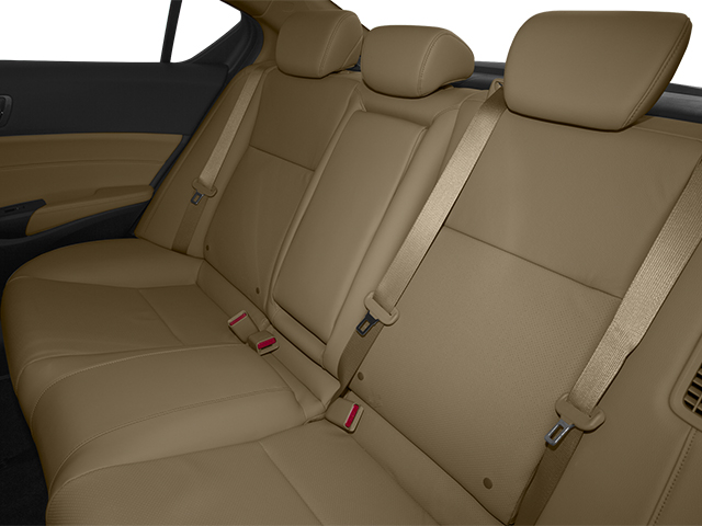 2013 Acura ILX Prices and Values Sedan 4D Technology backseat interior