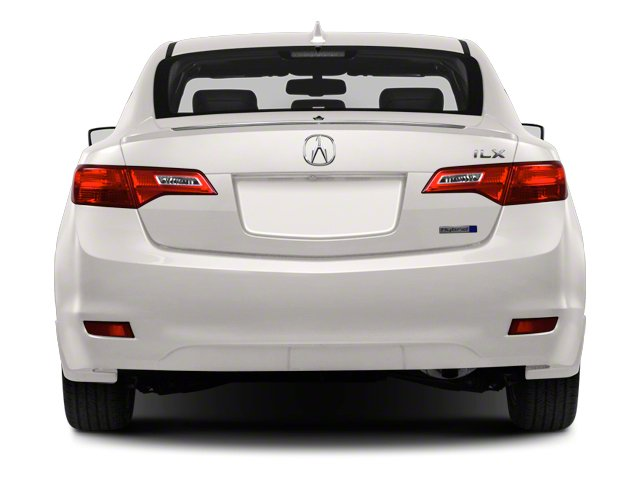 2013 Acura ILX Prices and Values Sedan 4D Hybrid Technology rear view