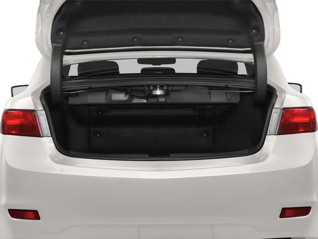 2013 Acura ILX Prices and Values Sedan 4D Hybrid Technology open trunk