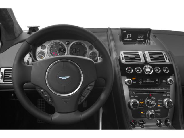2013 Aston Martin DB9 Prices and Values 2 Door Convertible driver's dashboard