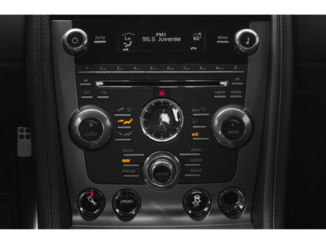 2013 Aston Martin DB9 Prices and Values 2 Door Convertible stereo system