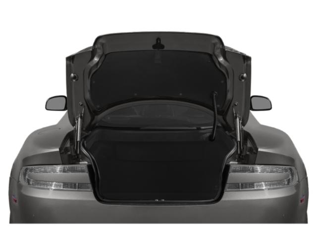 2013 Aston Martin DB9 Prices and Values 2 Door Convertible open trunk
