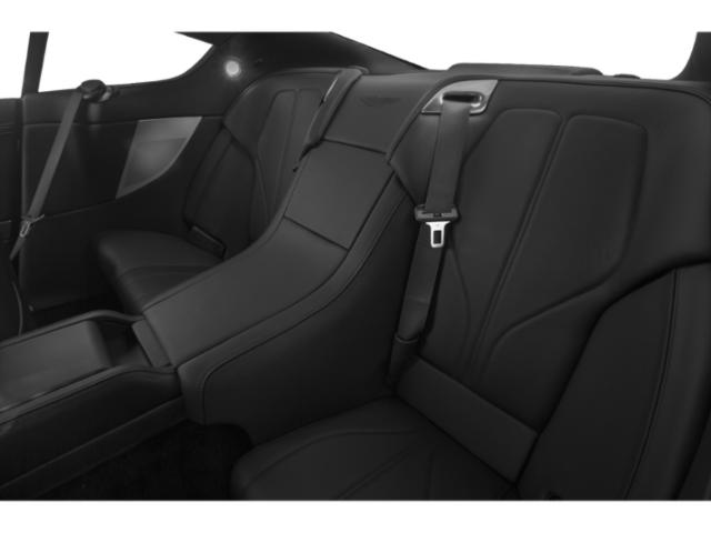 2013 Aston Martin DB9 Prices and Values 2 Door Convertible backseat interior