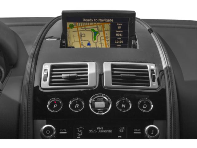 2013 Aston Martin DB9 Prices and Values 2 Door Convertible navigation system