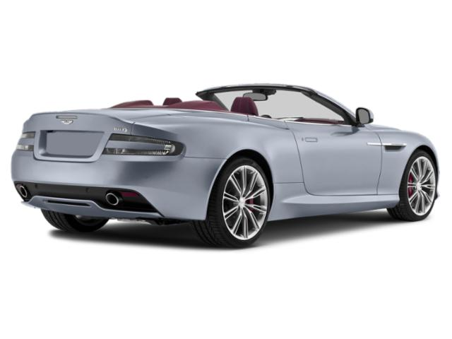 2013 Aston Martin DB9 Prices and Values 2 Door Convertible side rear view