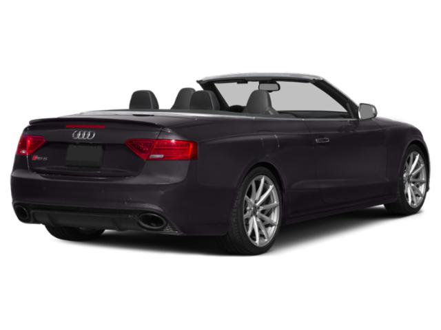 2013 Audi RS 5 Prices and Values Conv 2D RS5 AWD V8 side rear view