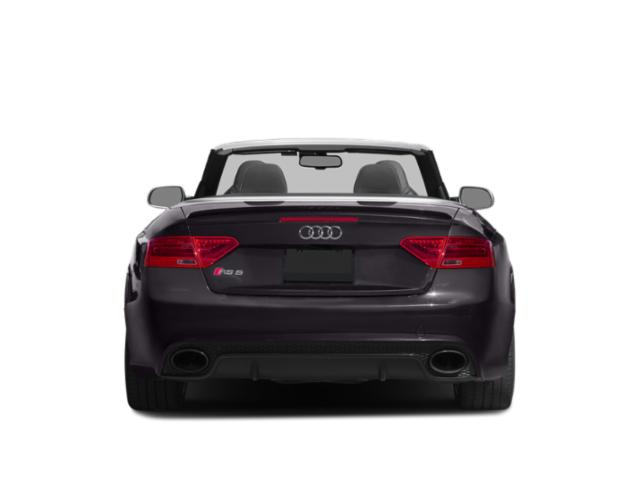2013 Audi RS 5 Prices and Values Conv 2D RS5 AWD V8 rear view
