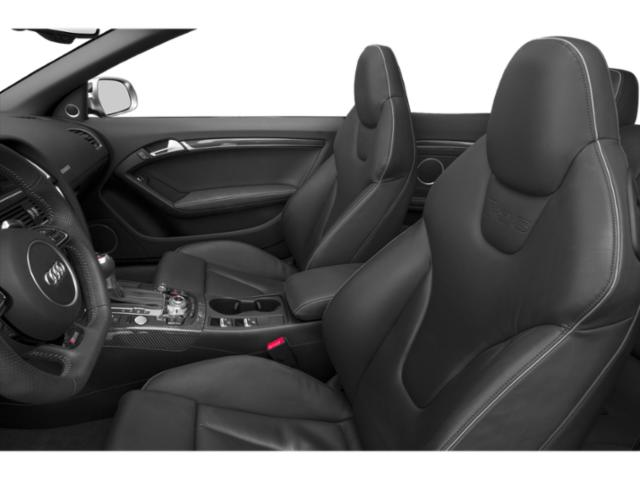 2013 Audi RS 5 Prices and Values Conv 2D RS5 AWD V8 front seat interior