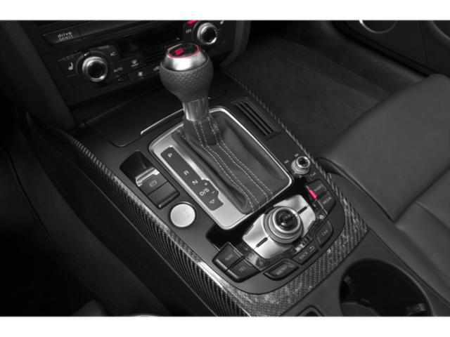 2013 Audi RS 5 Prices and Values Conv 2D RS5 AWD V8 center console