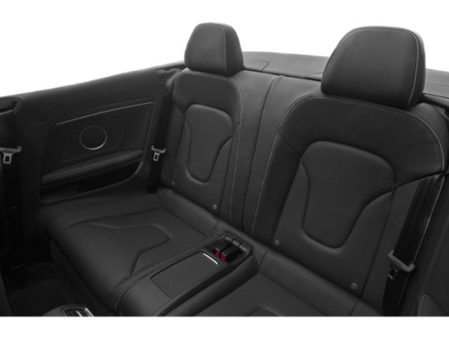 2013 Audi RS 5 Prices and Values Conv 2D RS5 AWD V8 backseat interior